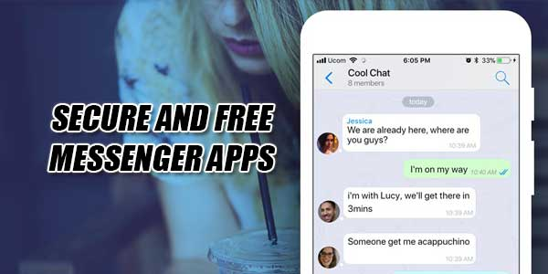 Secure-And-Free-Messenger-Apps