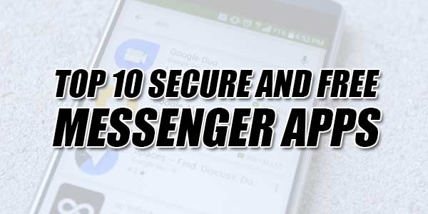 Top-10-Secure-And-Free-Messenger-Apps