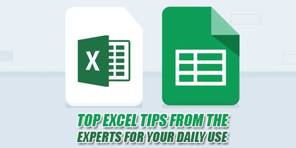 Top-Excel-Tips-From-The-Experts-For-Your-Daily-Use