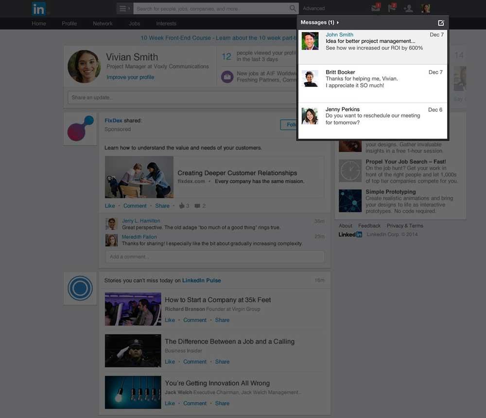 LinkedIn-Sponsored-inMail