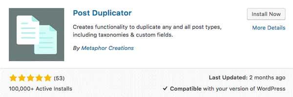 Post-Duplicator