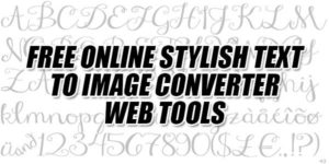 Free-Online-Stylish-Text-To-Image-Converter-Web-Tools