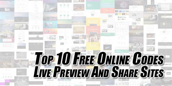 Top-10-Free-Online-Codes-Live-Preview-And-Share-Sites