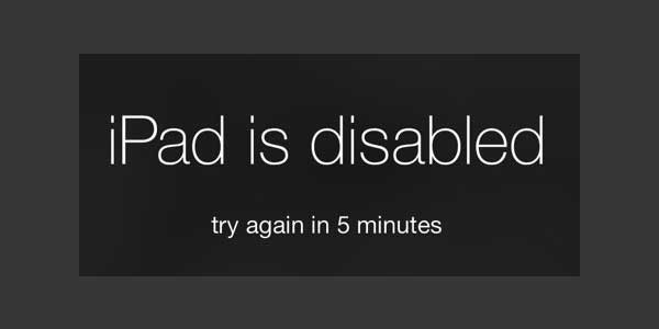 iPad-is-Disabled-Please-Try-Again-In-5-Min
