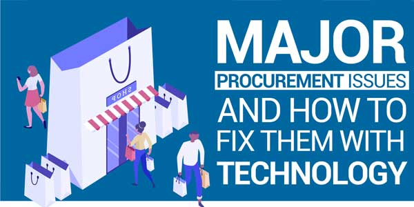 Major-Procurement-Issues-&-How-to-Fix-Them-with-Technology---Infographics