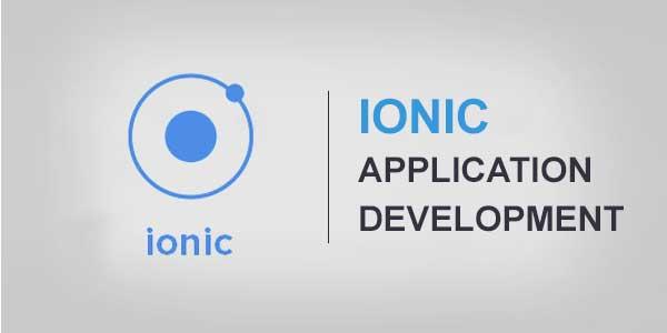 IONIC-Application-Development