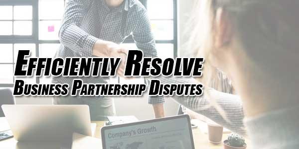 Efficiently-Resolve-Business-Partnership-Disputes