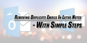 Removing-Duplicate-Emails-In-Lotus-Notes---With-Simple-Steps