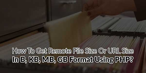 How-To-Get-Remote-File-Size-Or-URL-Size-In-B,-KB,-MB,-GB-Format-Using-PHP