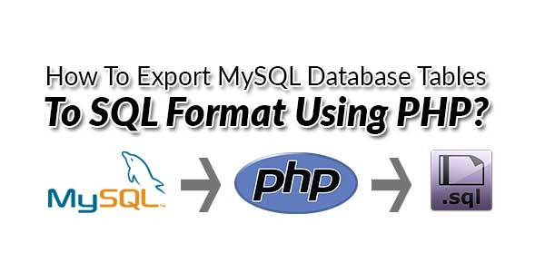 How-To-Export-MySQL-Database-Tables-To-SQL-Format-Using-PHP