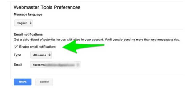 Webmaster-Tools-Preferences
