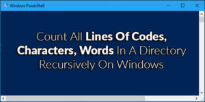 Count-All-Lines-Of-Codes,-Characters,-Words-In-A-Directory-Recursively-On-Windows