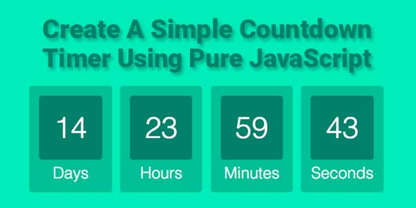 Create-A-Simple-Countdown-Timer-Using-Pure-JavaScript