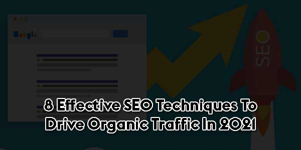 8-Effective-SEO-Techniques-To-Drive-Organic-Traffic-In-2021