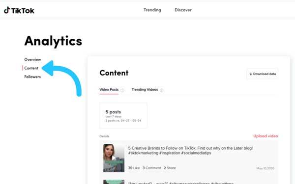 Second-TikTok-Content-Analytics