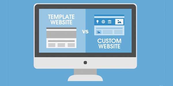 Template-Website-Vs-Custom-Website