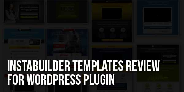 Instabuilder-Templates-Review-For-WordPress-Plugin