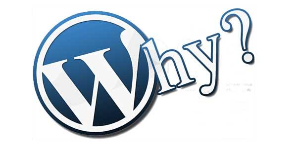 WordPress-Why